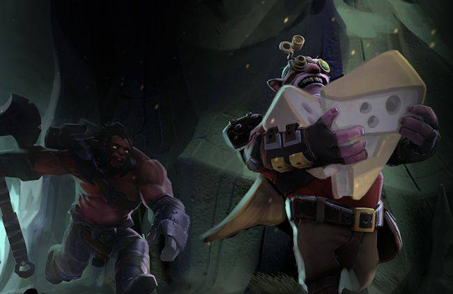 Dota 2 is getting a battle royale-style mode where you fight over cheese