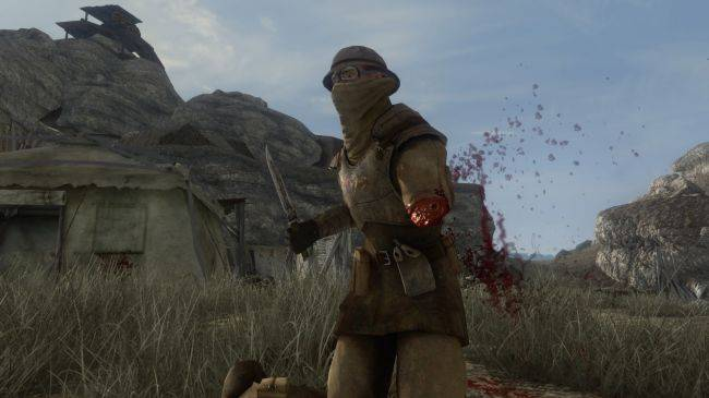 This Fallout: New Vegas dismemberment mod is absolutely brutal
