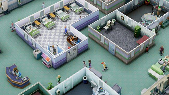 Two Point Hospital wanted fictional DJ Alan Partridge to host its in-game radio station