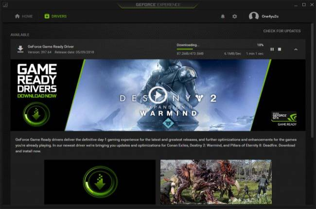 Buying a new graphics card? Nvidia has a new GPU driver available as well