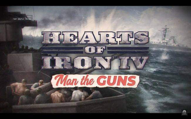 Hearts of Iron 4: Man the Guns expansion grows its naval game