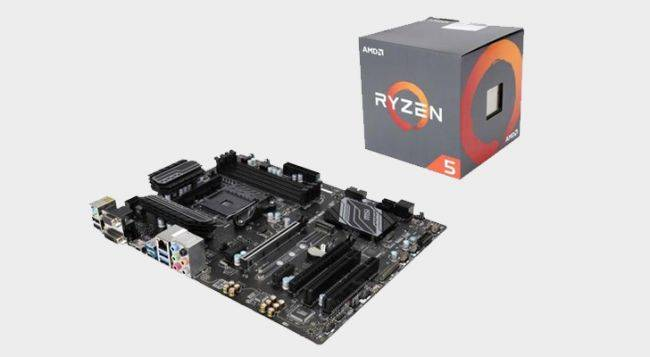 Get a Ryzen 5 1500X and B350 motherboard for $25 off