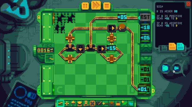 Prime Mover is a new puzzle game about building circuit boards