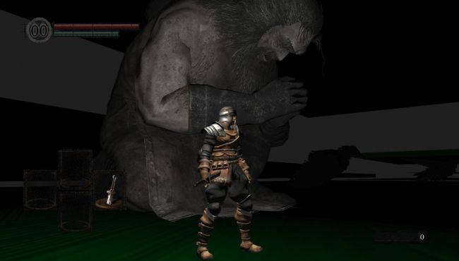This early Dark Souls: Remastered cut content is creepy as hell