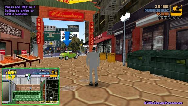 This Grand Theft Auto 3 mod brings Game Boy Advance GTA to PC