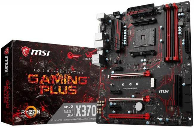 Get an AMD Ryzen 7 1700X CPU and MSI X370 Gaming Plus motherboard for $300
