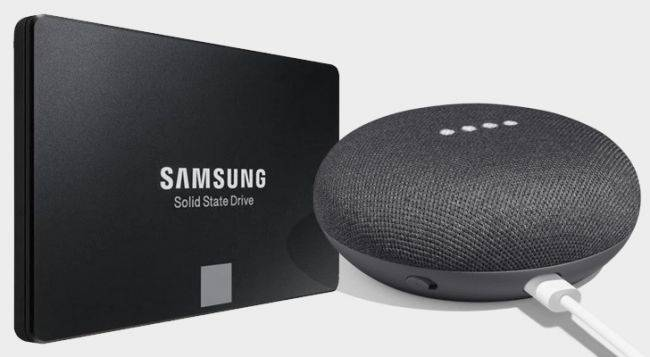 Get a 500GB Samsung 860 Evo SSD for $99, or $129 with a free Google Home Mini