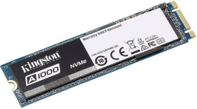 This 480GB NVMe solid state drive is on sale for $140