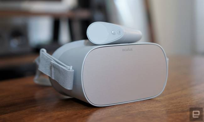 Oculus Go standalone VR headset is now available for $199