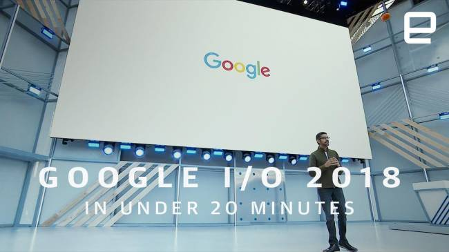 Watch the Google I/O 2018 keynote in under 20 minutes