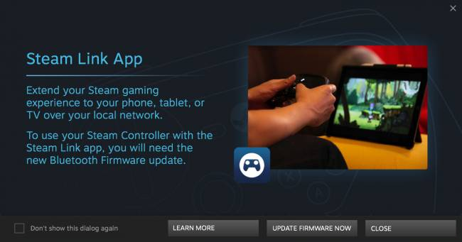 Valve switches on Steam Controller's mobile connection in beta