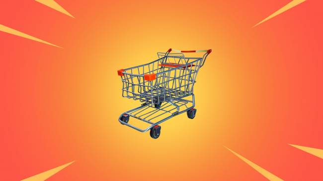 'Fortnite' gets its first vehicle: Shopping carts