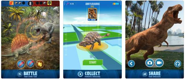'Jurassic World Alive' is like 'Pokémon Go' with dinosaurs