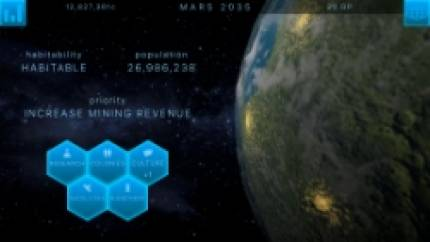 Terraform alien worlds in TerraGenesis, out now on Android