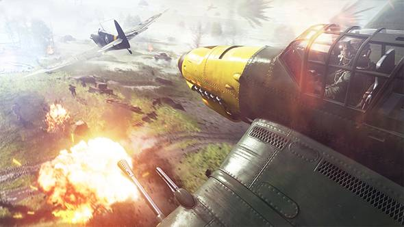 Battlefield V's fortification system will let you tow AA guns across the map