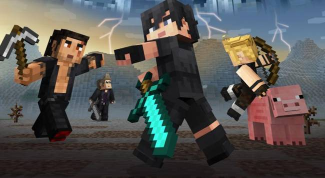 You Can Now Play As Your Favorite FFXV Characters In Minecraft