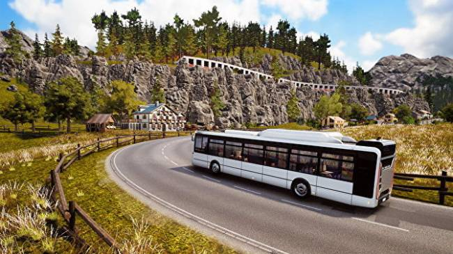 Bus Simulator 18 rolling along new roads in map expansion