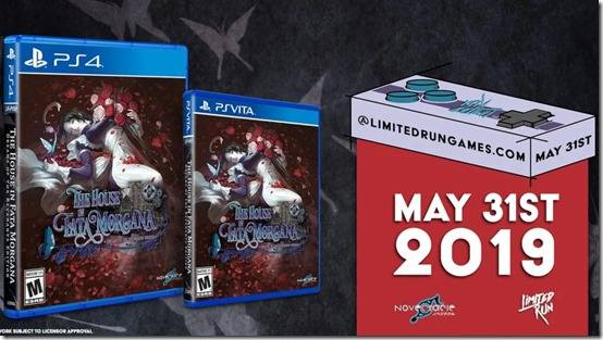 The House In Fata Morgana PlayStation 4 And PlayStation Vita Versions Open Their Doors In May And June 2019