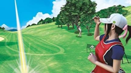 Watch Ian try out a slice of Everybody's Golf VR
