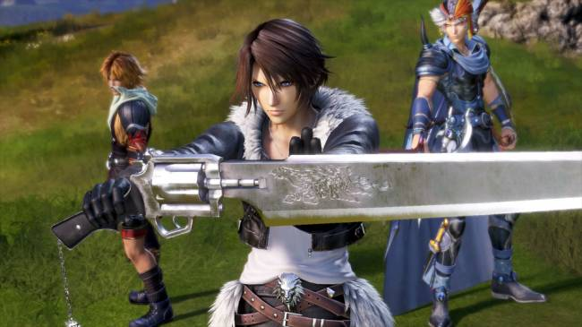 Squall Is Getting His Kingdom Hearts Costume in Dissidia Final Fantasy NT