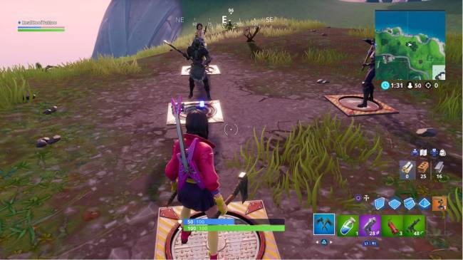Fortnite Fortbyte locations Guide: 64 Rox on top of Stunt Mountain, 17 Wooden Fish Building, Daytime Mountain top Cactus Wedge, Pressure Plate Puzzle solution