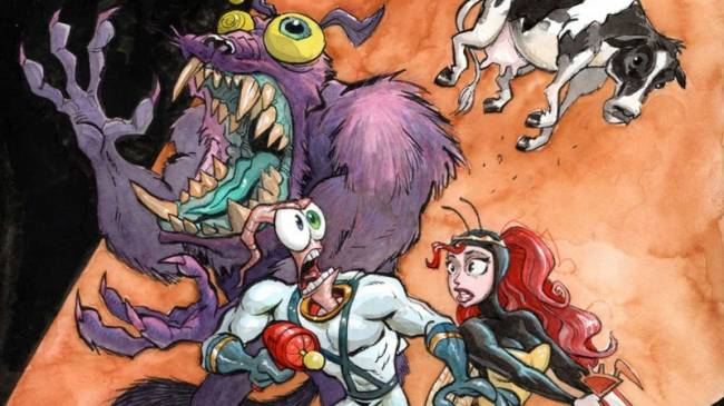 Earthworm Jim Developers Reunite To Make New Game