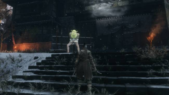 Shrek Invades Sekiro: Shadows Die Twice ... Yes Shrek