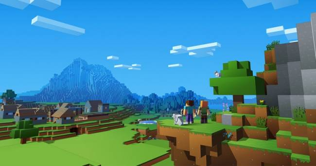 Augmented Reality Minecraft Game Teased
