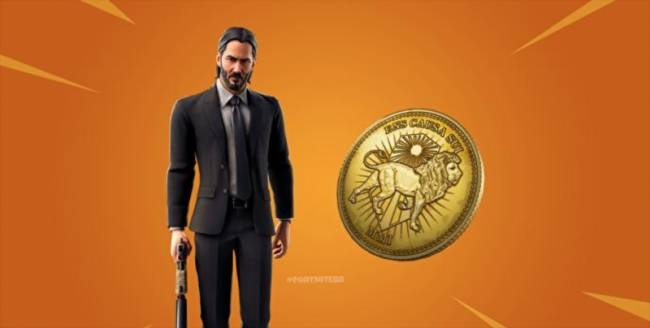 John Wick Reportedly Coming To Fortnite