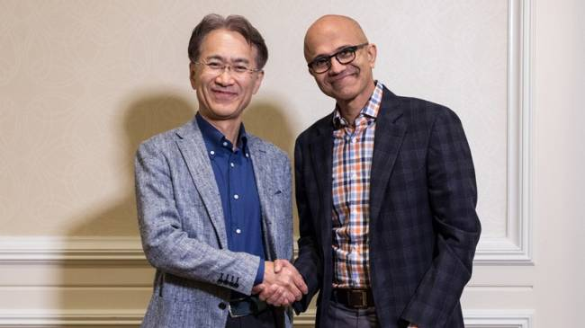 Sony And Microsoft Team Up On Tech