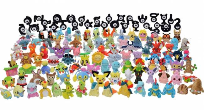 Every Johto Pokémon Is Getting Its Own Plushie