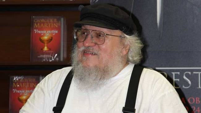 George R.R. Martin Consulted On Japanese Game Rumored To Be From Software Title