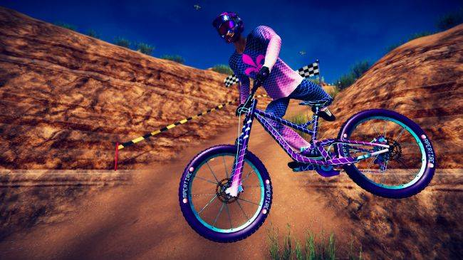 Downhill biking game Descenders adds multiplayer as it exits Early Access