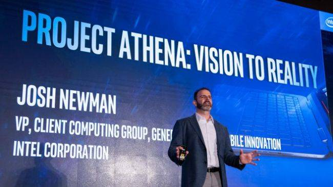 Intel's 'Project Athena' vows to improve crappy laptop battery life