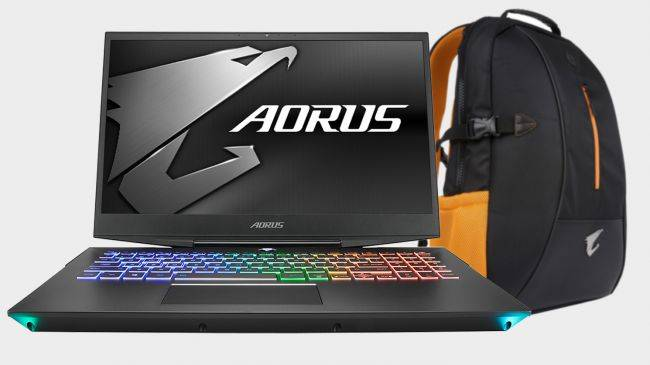 Gigabyte's RTX 2070 Aorus 15 laptop is $270 off, and it comes with a free backpack