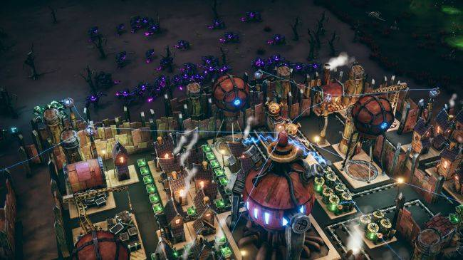 Dream Engines will let you build a sci-fi city and then watch it fly away