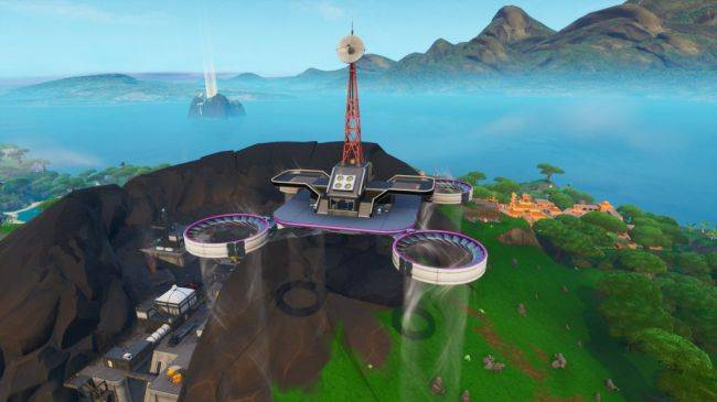 Where to find Fortnite's sky platforms