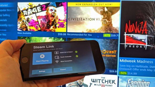 Steam Link is now available for iOS, a year after its initial rejection
