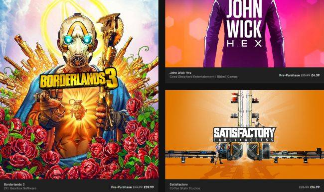The Epic Games Store's first big sale is live, includes a free game every week