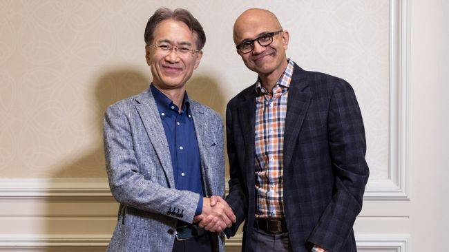 Sony and Microsoft team up to develop 'game and content-streaming services'