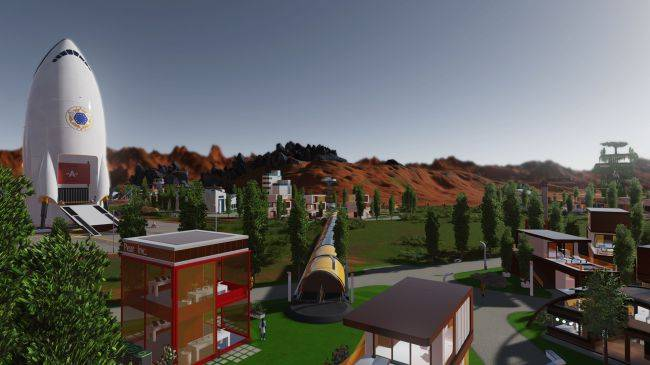 Surviving Mars: Green Planet is live, allowing you to send all geese to Mars