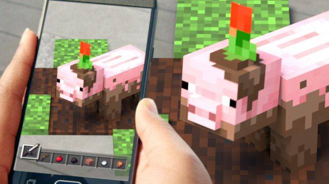 Minecraft Earth is an AR spin-off that lets you build in the real world