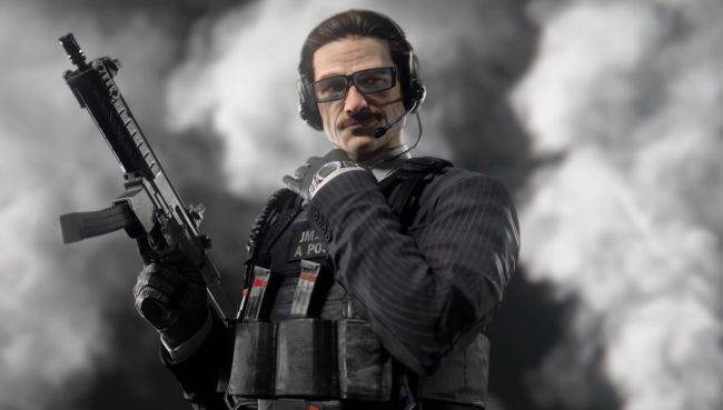 Rainbow Six Siege's new defender looks like your dad cosplaying as James Bond