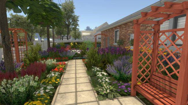 House Flipper's gardening DLC is out now