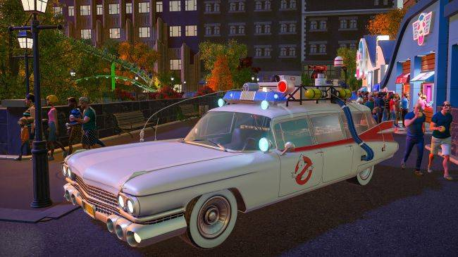 Planet Coaster: Ghostbusters DLC will haunt your park soon