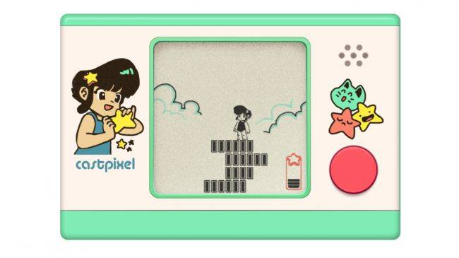 Wobble Jump is a free, retro LCD game from a parallel dimension