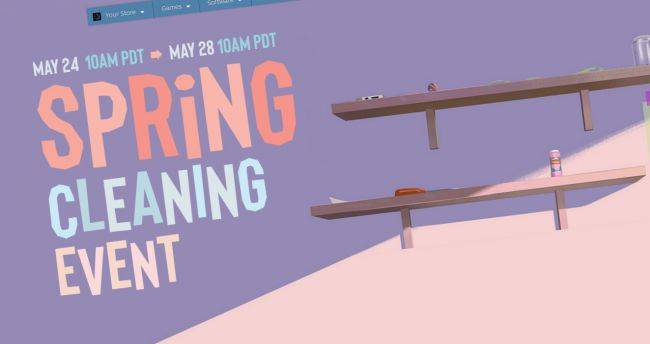 The Steam Spring Cleaning Event has begun