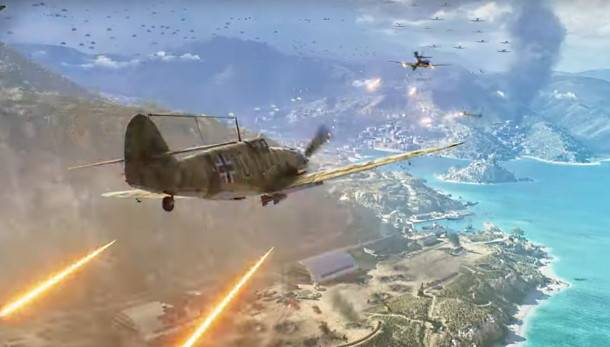 Battlefield 5's next map is 'all-out war' on a gorgeous Mediterranean island