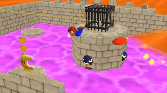 A modder is remaking Mario Odyssey inside of Mario 64, hat tricks included