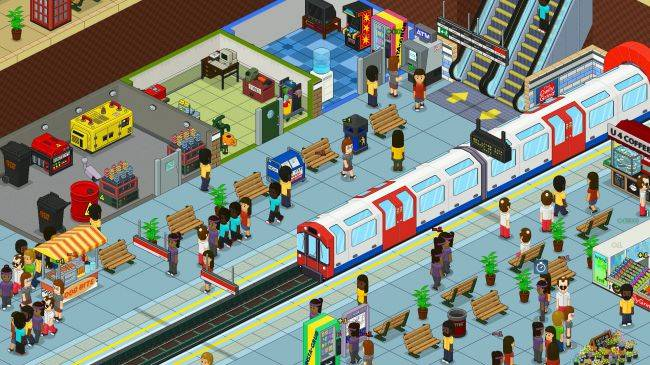 Overcrowd turns commuting into a cute management game